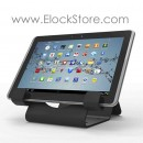 Universal Tablet Security Holder with Universal Tablet Lock - Black - Straight cable lock - Maclocks