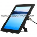 New iPad Lock and Security Case Bundle - iPad 2 3 4 - ultra slim cable lock - Black - Maclocks